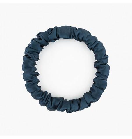 Jedwabna gumka do włosów niebieska cepillo numero uno