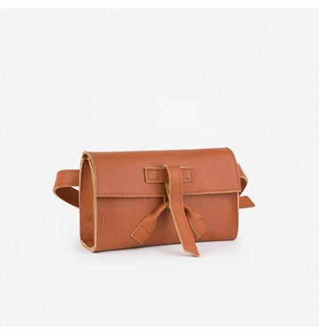 Belt bag w kolorze rudym
