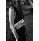 Belt bag w kolorze czarnym - croco 2