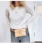 Belt bag w kolorze naturalnym