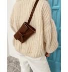 Belt bag Grande w kolorze kasztanowym