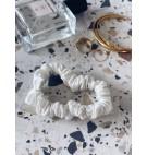 Jedwabna gumka do włosów off white cepillo numero uno